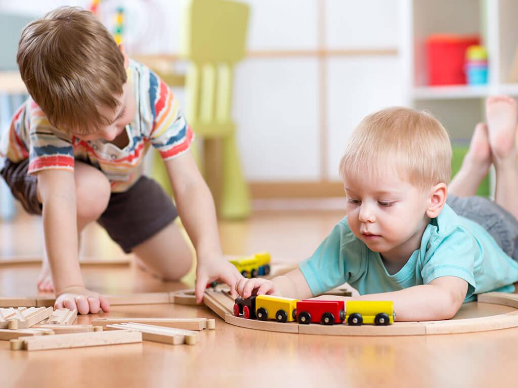 Kinderbetreuung im Fitnessland