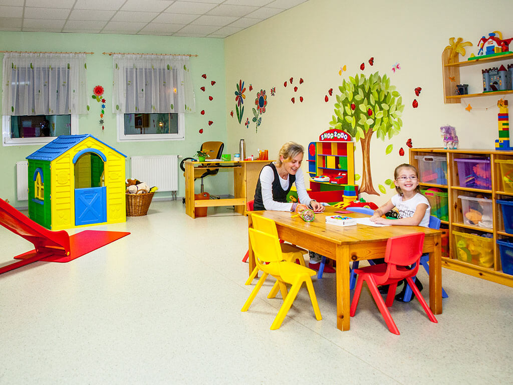 Kinderbetreuung inclusive im Fitnessland Oeynhausen